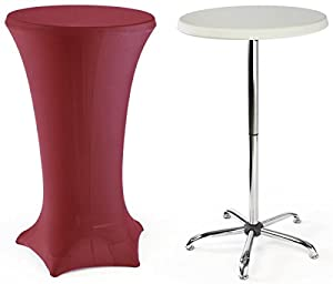 Amazon Com High Top Cocktail Tables Are Portable