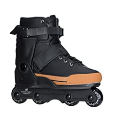 Setting the benchmark for the new line of aggressive inline skates, the Front Street is ready to take whatever you throw at it. It's aggressive cuff offers proven performance and support for the biggest of gaps, with the added benefits of a s...