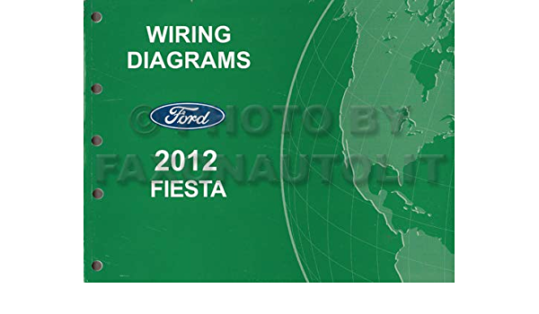 2012 ford fiesta wiring diagram manual original: ford: amazon.com: books  amazon.com