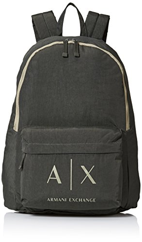Armani Exchange Men's Logo Backpack,cypress,One - Armani For Men