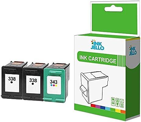 InkJello - Cartucho de tinta de repuesto para HP PSC 1500 1507 ...
