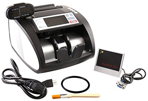 - G-Star Technology Money Counter With UV/MG/IR Counterfeit Bill Detection (Elite)
