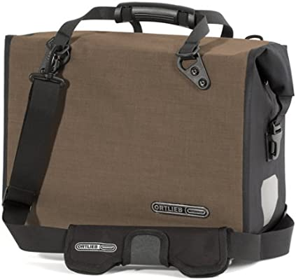 Amazon.com: Ortlieb Office QL2 Bolsa: Hazel/Negro; LG ...