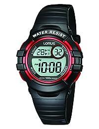 Lorus R2379H Digital Alarm Chronograph Polyurethane Strap Watch