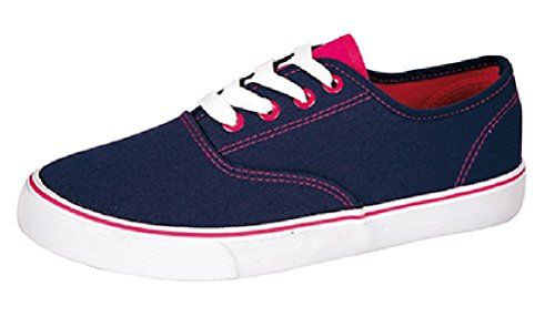 Dek - Zapatillas de Lona para mujer Azul marino Azul - marino