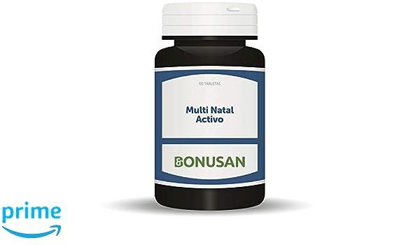 BONUSAN - MULTI NATAL ACTIVO 60tab BONUSAN: Amazon.es: Salud y cuidado personal