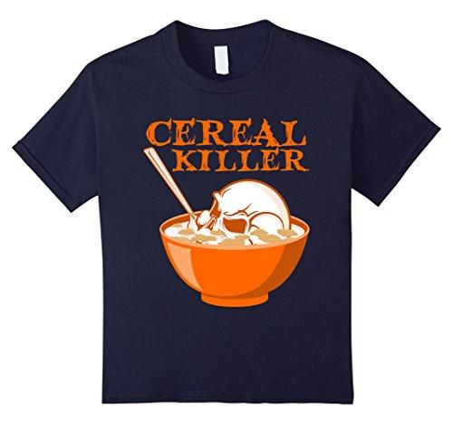 Kids Cereal Killer T-Shirt-Serial Killer Skull Pun Halloween Tee 12 (Serial Killer Halloween Costume Ideas)
