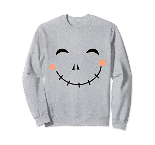 Last Minute Happy Scarecrow Halloween Costume Sweatshirt -