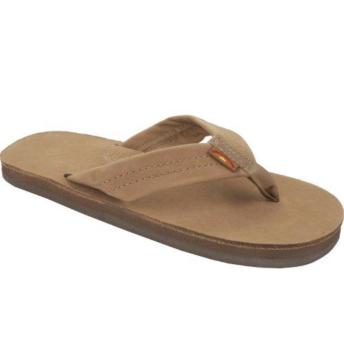 Rainbow Girls Sandals (Rainbow Sandals Kids Premium Leather, Sierra Brown, 7/8 Infant)