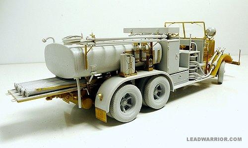 Lead Warrior 1//35 Ts 2.5 Tankspritze Kfz.343 Fire Truck Conversion WWII LW35227