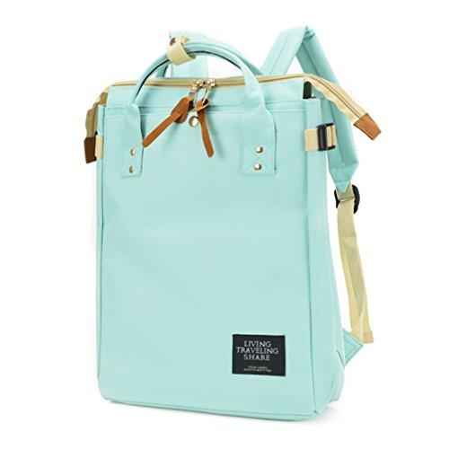 St.Roma - Bolso mochila  de Lona para mujer Talla única azul