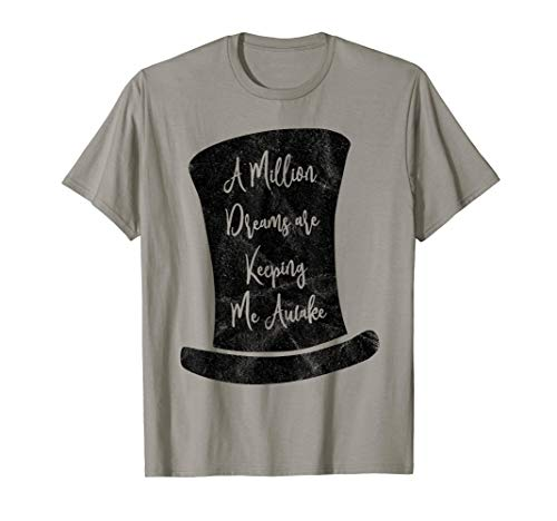 A Million Dreams T-shirt, kids showman party shirt]()