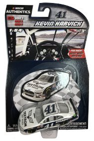 Nascar Authentics Wave 9 Kevin Harvick  4 Textron Offroad Stampede Xfinity Series Ford Mustang 1 64 Scale Diecast With Bonus Mini Car Magnet