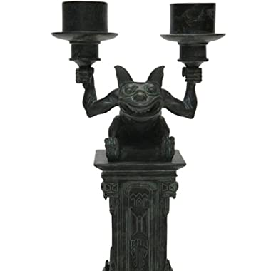 Disney Park Haunted Mansion Gargoyle Figurine Candleabra Candle Holder NEW
