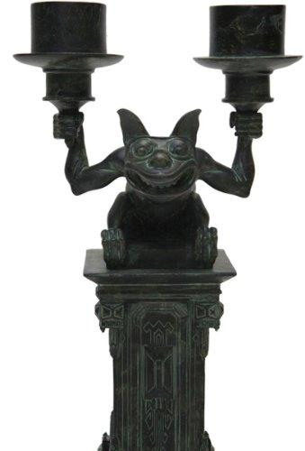 Gargoyle Master - Disney Park Haunted Mansion Gargoyle Figurine Candleabra Candle Holder NEW