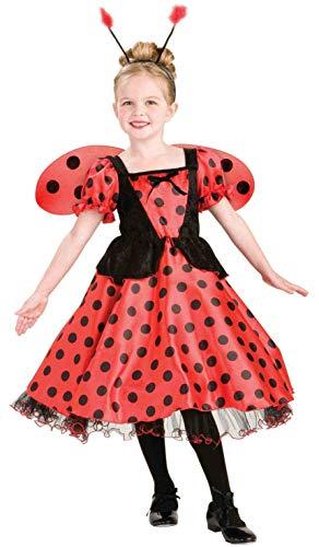 - Forum Novelties Lady Bug Princess Costume, Child's Large