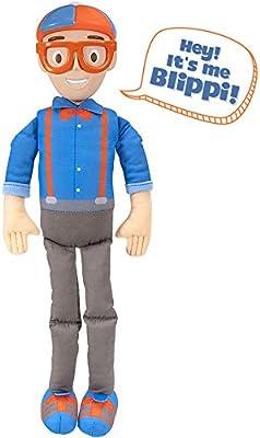 Blippi My Buddy Blippi 40cm Plush Figure Doll IN HANDS
