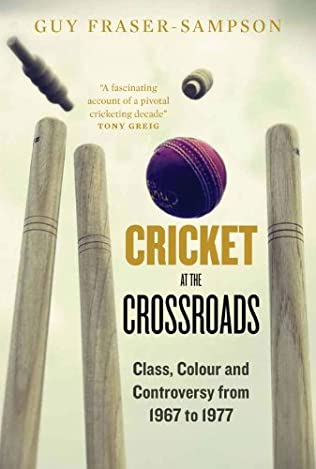 book cover of Cricket at the Crossroads
