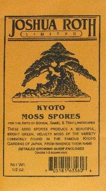 Kyoto Moss Spores