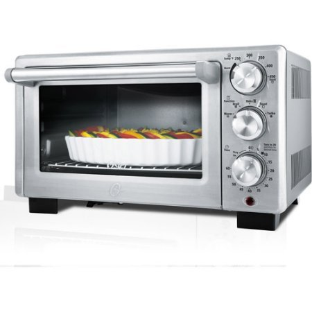 Oster Designed for Life Convection Toaster Oven, Contemporary style and design with brushed stainless steel front (Oster Tssttvdfl2 compare prices)