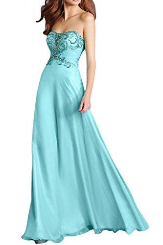 Toscana sposa Elegant a forma di cuore cristallo sera vestimento Chiffon damigella Party Ball un'ampia per vestiti