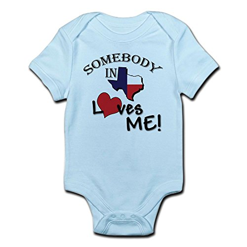 CafePress Somebody Infant Creeper Cute Bodysuit Romper