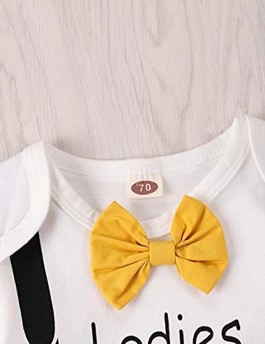 Xuefoo Set di Abbigliamento con Stampa di Testa di Cervo per Neonato Neonato Set di Abbigliamento con Cappuccio per… 3