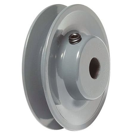 "TB Woods AK5112 FHP Bored-To-Size, 4.95"" Outside Body Diameter, 0.5"" Bore Diameter V-Belt Sheave"