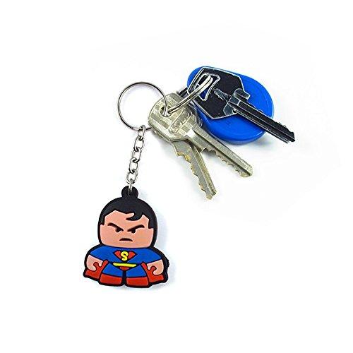 Chaveiro Emborrachado Cute Super Homem
