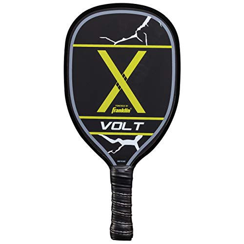 (Franklin Sports Pickleball Paddle - Wooden - Volt - Yellow - USAPA Approved)