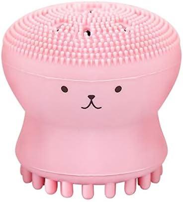FANHE Cepillo de Limpieza Recién Llegado Cepillos de baño Exfoliante Facial Cepillo de Limpieza Facial Ducha Baño Baño Sílice Gel Pad Accesorios