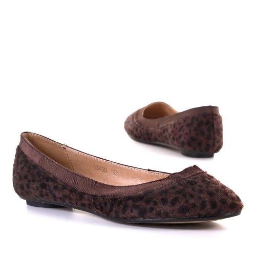 Ital-Design - Bailarinas para mujer marrón - marrón