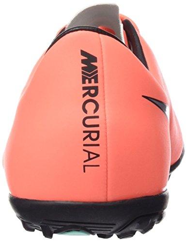 Nike Jr Mercurial Victory V TF - Zapatillas de Deporte, Niñas Mullticolor (BRGHT MNG / MTLLC SLVR HYPR TRQ)
