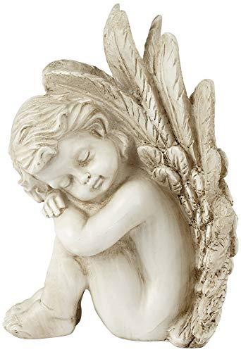 Angel Bookends - Dahlia Studios Sleeping Angel Facing Right 9 1/2