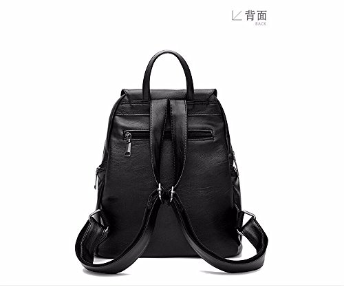 Pockets Many Soft Bags Cross Wristlet Vintage Shoulder Casual Woman Leather Shoulder Capacity Pu Large body Small With Shoulder Clutch z7qOw