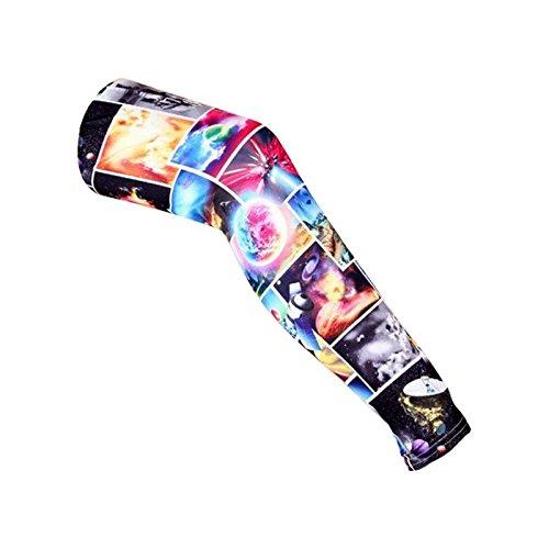 Midi Shopping - Leggings réalité planétaire multicolore Taille unique