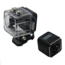 Anstar 360° 4K Panoramic VR Camera ,Ultra HD Underwater Camera Digital Waterproof Cam with Wi-Fi 0.82 Inch LCD Display Sport Action Camera