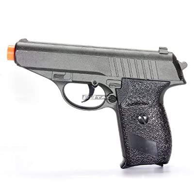 BBTac ZM02 Spring Pistol Metal Body and Slide Sub-Compact Pocket 220 FPS Concealable Airsoft Gun