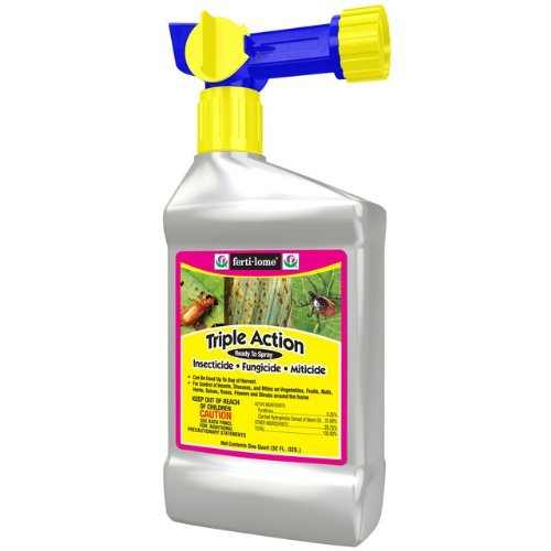 Fertilome 32 Oz RTS Triple Action Insecticide, Fungicide and M Sold in packs of 12 by Fertilome