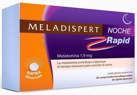 Meladispert - MELADISPERT NOCHE RAPID 1.9MG 20 COMPRIIDOS: Amazon.es: Belleza