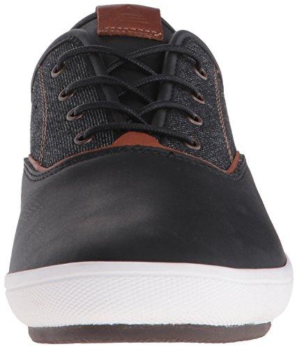 Aldo Men's Abiradia Fashion Sneaker, Black Leather, 11 D US