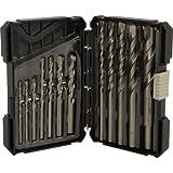Klutch 12-Pc. Masonry Drill Bit Set
