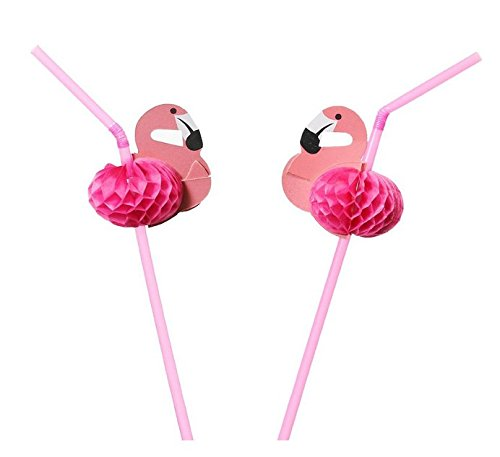 - Flamingo Straws (3-Pack of 12)