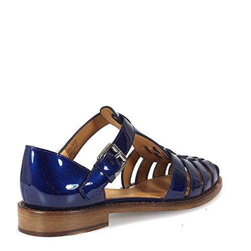 Churchs Vrouwen Dx00019lpf0v41 Blauw Lederen Sandalen