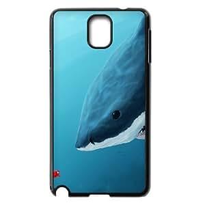 LZHCASE Diy Case Deep Sea Shark For samsung galaxy note 3 N9000 [Pattern-1]