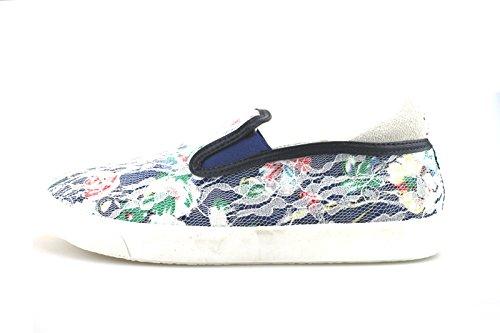 Sneakers Menina Azul Têxteis Coveri Ag249 Enrico BxwRYxO