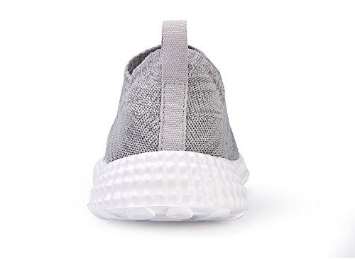 Chui Mens Andas Mesh Lätta Mode Sneakers Bekvämt Promenadskor Grå