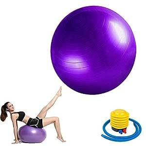 ZYJFP Pelota De Ejercicio Anti-Burst para Yoga Pelota Pilates ...