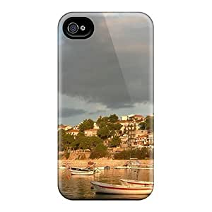 High Impact Dirt/shock Proof Cases Covers For Iphone 6plus (lovely Seaside Town Of Jelsa Croatia)