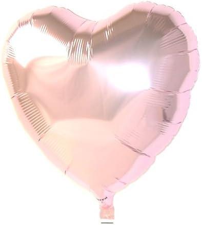 アイブレックス バルーン ハート型 パステルピンク ヘリウムガス入り